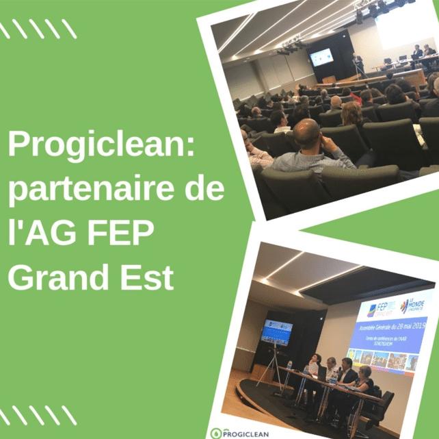 Progiclean, partenaire de l'AG de la FEP Grand Est