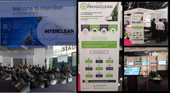 Progiclean exposant au salon Interclean Amsterdam