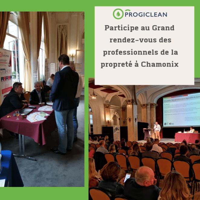 Progiclean au rendez-vous des professionnels de la propreté à Chamonix