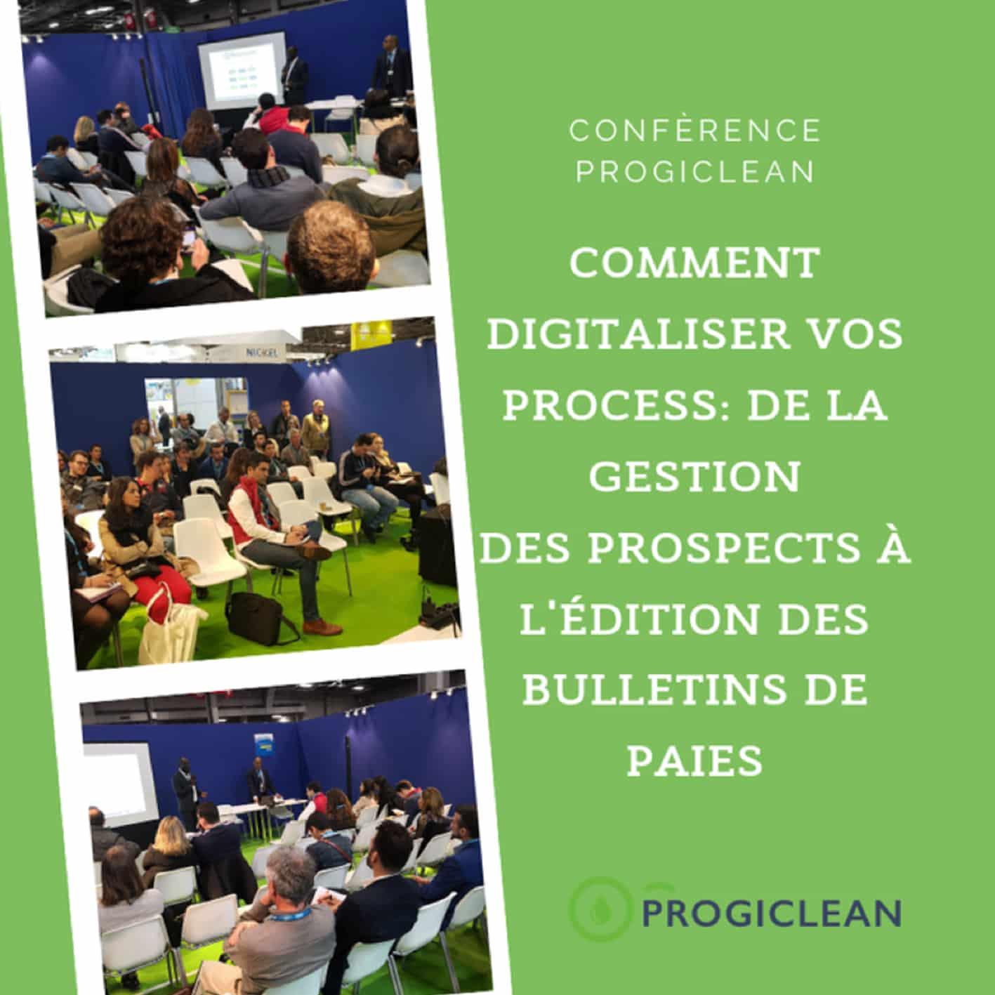 Conférence progiclean le 17/04 lors d'Europropre